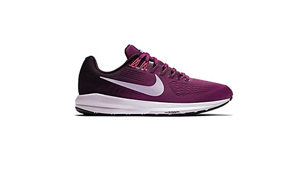 eeb119b69c09a Nike Women s Air Zoom Structure 21 Running Shoe Tea Berry Iced Lilac-Port  Wine 6.0  Amazon.in  Shoes   Handbags