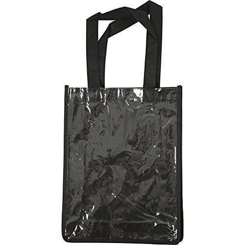 Sac personnalisable, dim. 30x23x7 cm, noir, 1pièce