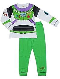 Niño Toy Story Buzz Lightyear Disfraz Pijama brilla en la oscuridad tallas de  18 Meses a 2324276cd87