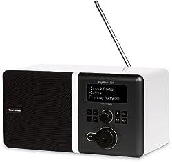 TechniSat DigitRadio 300 DAB+ und UKW-Empfang mit Spitzenklang durch Equalizer & integrierte Bassreflextube weiß