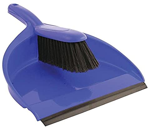BENTLEY VZ.8011/B DUSTPAN AND BRUSH SET BLUE [Pack Size: 2] (Epitome Certified)