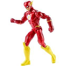 FLASH - Figura Flash Justice League Action, 30 cm (Mattel DWM51)