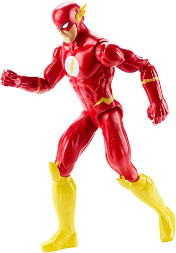 Kinder Die Kostüme Flash (Mattel DWM51 - DC Justice League Basis-Figur The Flash, Aktionsspielzeug, 30)