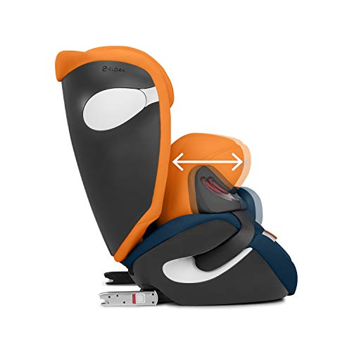 CYBEX Gold Juno M-Fix Child's Car Seat, For Cars with and without ISOFIX, Group 1 (9-18 kg), From approx. 9 Months to approx. 4 years, Manhattan Grey  Columbus Trading Partners GmbH & Co. KG (formerly Cybex)