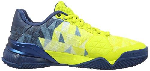adidas Herren Barricade 2016 Clay Tennisschuhe Verde (Limsho / Ftwbla / Acetec)