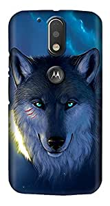 Meet Arts motoG4_Rd1061 Back Cover for Motorola G4 Plus