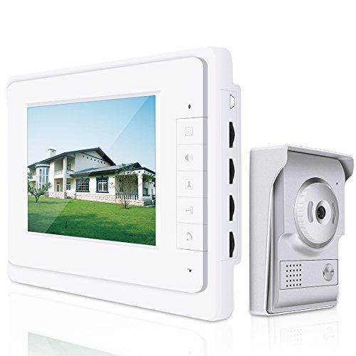 Elenxs 7' LCD Videoportero vídeo Intercom timbre...