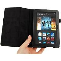 DURAGADGET´s maßgefertigte Kunstleder-Schutzhülle mit Stand für AMAZON KINDLE FIRE HDX 7 Zoll Tablet PCs