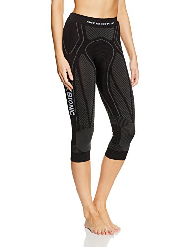 X-Bionic Erwachsene Funktionsbekleidung Running Lady The Trick OW Pants Medium Leggings, Black/Anthracite, L