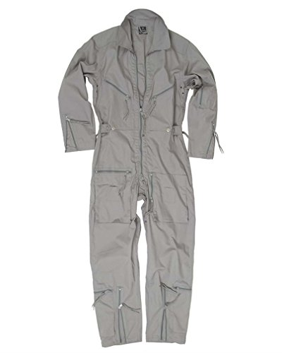 Zubehör Mechaniker Kostüm - Mil-Tec BW Pilot Suit Olive New - Grey, 48