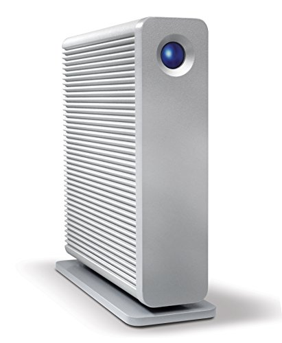 LaCie d2 Quadra USB 3.0 - 4 TB externe Festplatte, USB 3.0, eSATA 3Gb/s, dual FireWire 800, 7200 rpm - LAC9000258EK