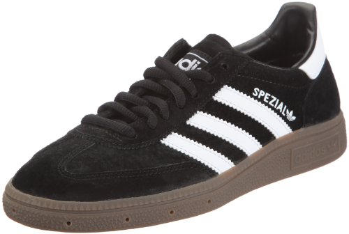 adidas Originals HANDBALL SPEZIAL 551483, Baskets mode mixte adulte Noir (Black/Running White Footwear/Gum)