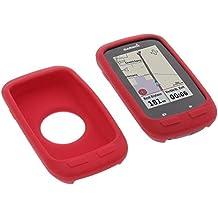 Funda para Garmin Edge 1000 protectora silicona carcasa protección roja