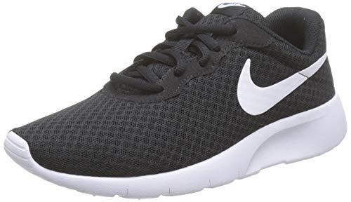 Nike Jungen Tanjun (Gs) Laufschuhe, Schwarz (Black White), 37.5 EU