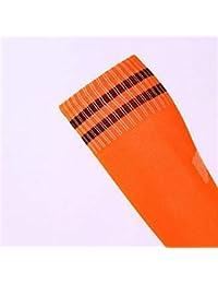 Kangqi Calcetines de niñas Las Mujeres Espesan Dos Barras Toalla Calcetines de fútbol Calcetines atléticos (
