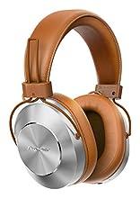 Pioneer SE-MS7BT(T) Cuffie Auricolari Bluetooth Over-Ear (microfono, audio ad alta risoluzione, NFC, riproduzione 12 ore, alto comfort, per smartphone, tablet, design in alluminio), marrone argento