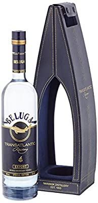 Beluga Transatlantic Racing Noble Russian Wodka in der Ledertasche (1 x 0.7 l)
