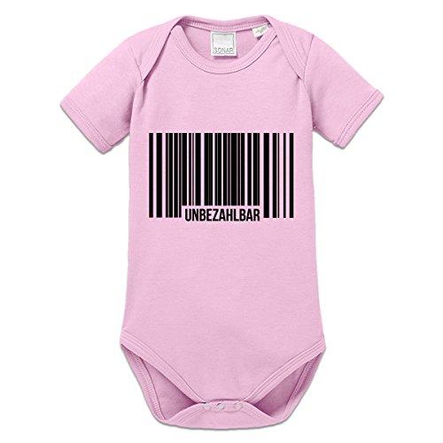 Unbezahlbar Barcode Baby Strampler by Shirtcity (Mädchen Unbezahlbar T-shirt)
