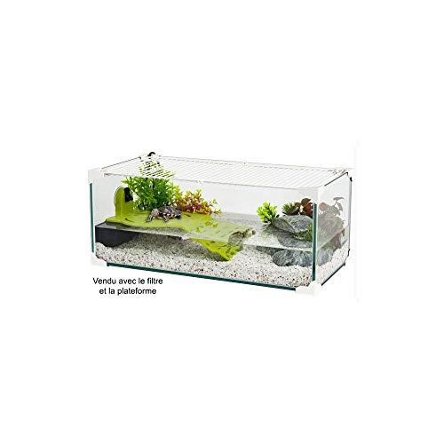 Zolux - tartaruga acquario per tartaruga d'acqua, 60 cm