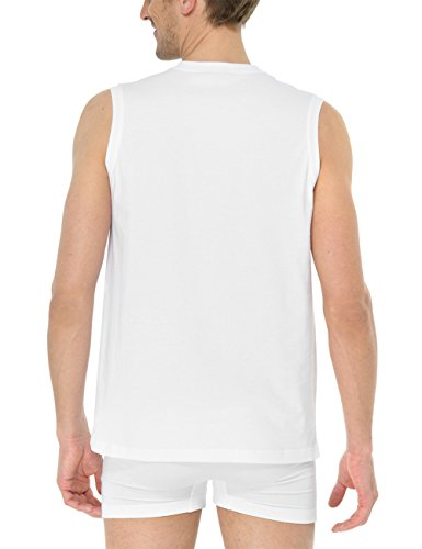 Schiesser Herren Unterhemd Weiß (100-weiss)
