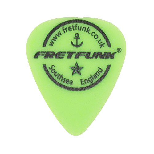 ter Custom Gitarre Plektrum Plektron Picks 12 Pack 0.88 mm neon green (Plektren Custom)