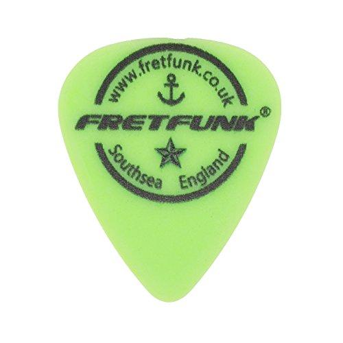 ter Custom Gitarre Plektrum Plektron Picks 12Pack 0.88 mm neon green (Plektren Custom)
