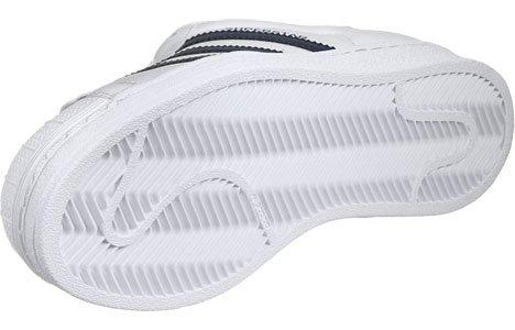 adidas Superstar W, Scarpe Low-Top Donna White Blue