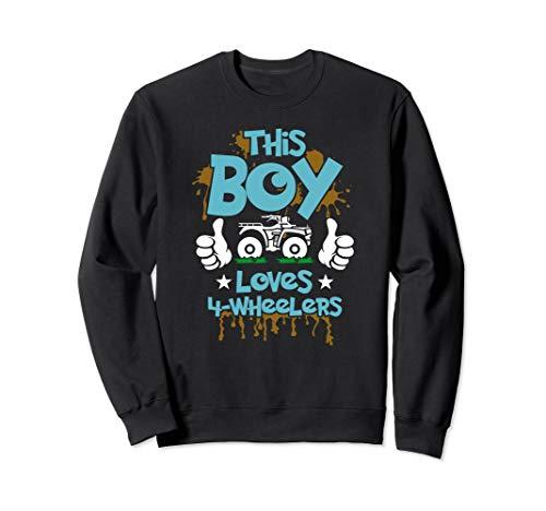 Kids ATV shirt 4 wheeler t-shirt for boys four wheeler gift Sweatshirt