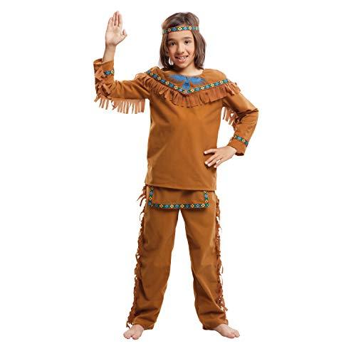 My Other Me Me-203396 Disfraz de indio velvet para niño, 7-9 años (Viving Costumes 203396