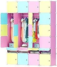 Cubic Closet, MultiColor - H 200 cm x W 147 cm x D 47 cm