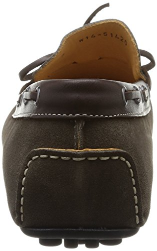 Florsheim Comet, Mocassins homme Beige (Mud Suede/Dark Brown Calf)