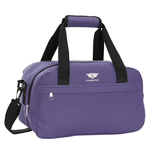 Slimbridge Mora 35x20x20cm pequeña bolsa de equipaje de mano de Ryanair, Púrpura