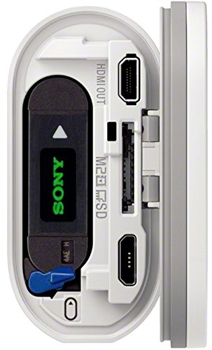 Sony FDR-X1000 4K Actioncam Live-View Remote Kit (4K Modus 100/60Mbps, Full HD Modus 50Mbps, ZEISS Tessar Objektiv mit 170 Ultra-Weitwinkel, Vollständige Sensorauslesungohne Pixel Binning) weiß - 8
