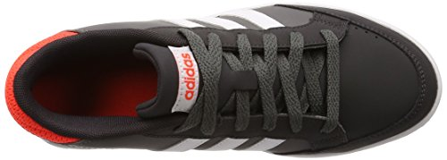 Zapatillas Adidas Neo Hoops K Boy Girl Unisex Gris / Naranja