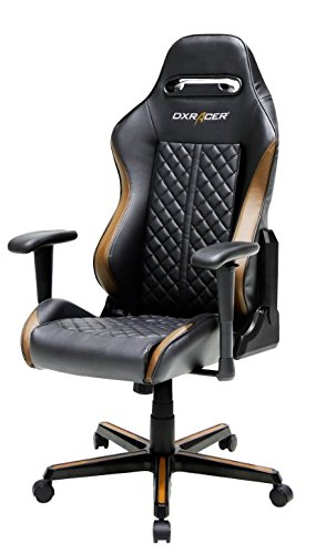 Dxracer - Silla Gaming dh73 Negro y marrón