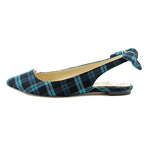 Sole Society Morganne Toile Talons Teal