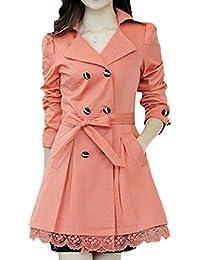 Scothen Jersey Moda chaqueta algodón forro satén forrada 3/4 chaqueta de la manga de