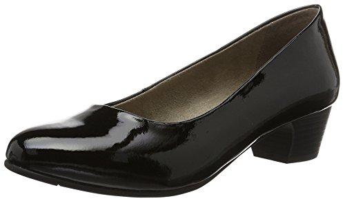 Softline 22360, Escarpins Femme Noir (Black Patent 018)
