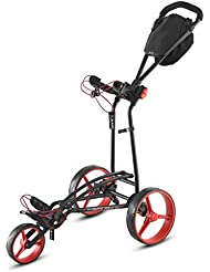 Big Max Auto Fold FF 2016 Carrito de golf de 3 ruedas schi ebetro lley,