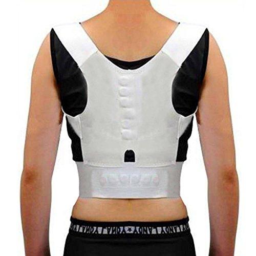 CAMTOA Magnetic Therapy Rücken Schulter Haltung Unterstützung Geradehalter für gute Körperhaltung