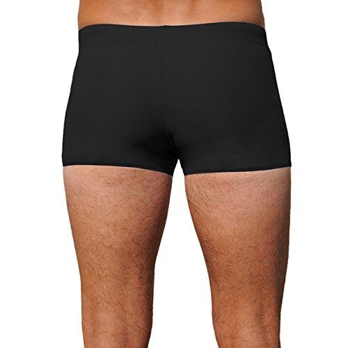 iQ-Company Herren Badehose UV 300 Swimshorts Bites black