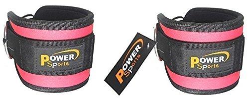 1-paio-fuchsia-pink-ankle-strap-cavo-attacco-macchina-miglioramento-pesi-crossfit-allenamento-sollev