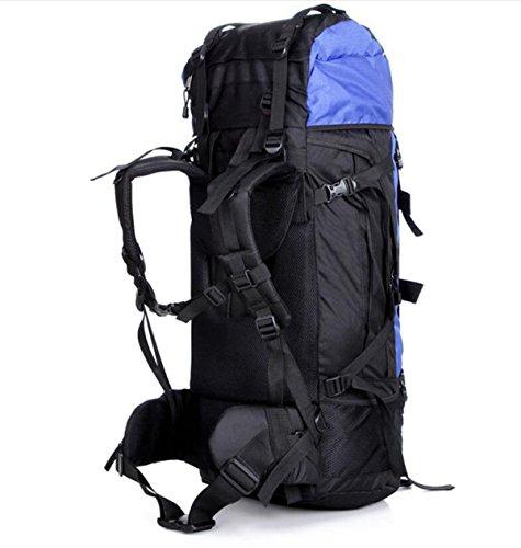Wandern Rucksäcke Outdoor Bergsteigen Tasche Wasserdicht Camping Rucksack,Blue Blue