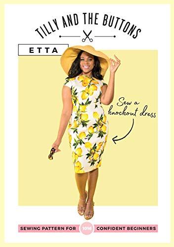 Tilly und die Knöpfe Etta Kleid Schnittmuster Stitch Fitted Cap
