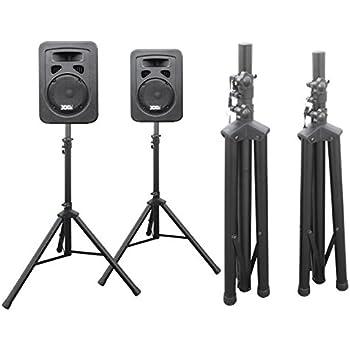 2x Set Boxenständer Lautsprecher Stativ Studio Monitor DJ Speaker Boxen klappbar