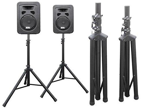 2 Piezas Soporte altavoces Soporte En Trípode para Audio Cajas Altavoz Modelo:...