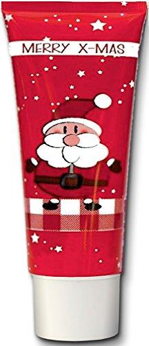 """Pflegende OLIVEN-HANDCREME für WEIHNACHTEN, 40ml-Tube, Motiv \""""WEIHNACHTSMANN\"""" - Das ideale Kunden-Weihnachtsgeschenk."""