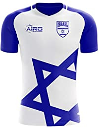 Airo Sportswear 2018-2019 Israel Home Concept Football Soccer T-Shirt Camiseta