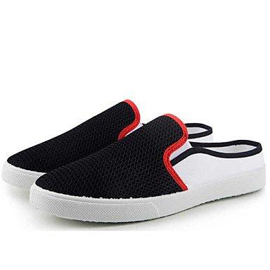 Chaussures d'hommes Outdoor / Bureau Carrière / Athletic / Robe Tulle & Sabots Mules Noir / Bleu / gris Black