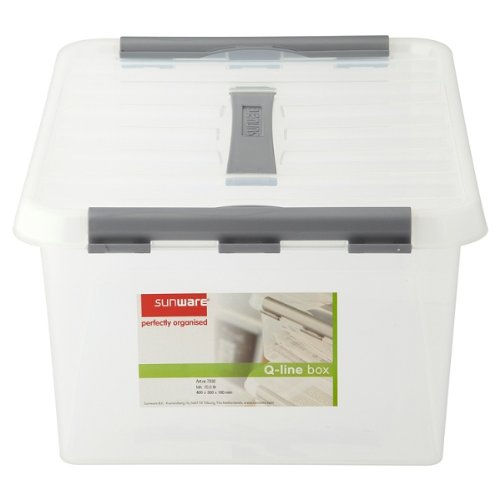 Preisvergleich Produktbild Sunware Perfekt organisierte Q-Line Box 15 Liter (Packung mit 6 x SGL)